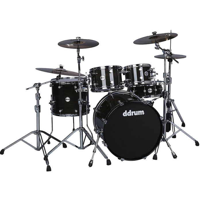 Ddrum Reflex Elt 522 Tbk Ddrum Reflex Elt 522 Tbk -Piece Drum Shell Pack Trans Black Lacquer