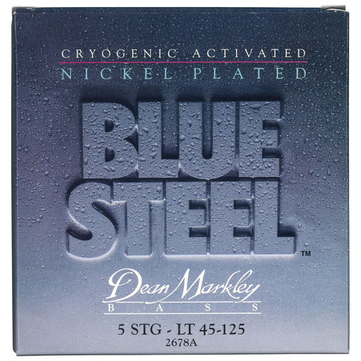Dean Markley 2678A Blue Steel NPS 5 cordes basses électriques 45-125 - Red One Music