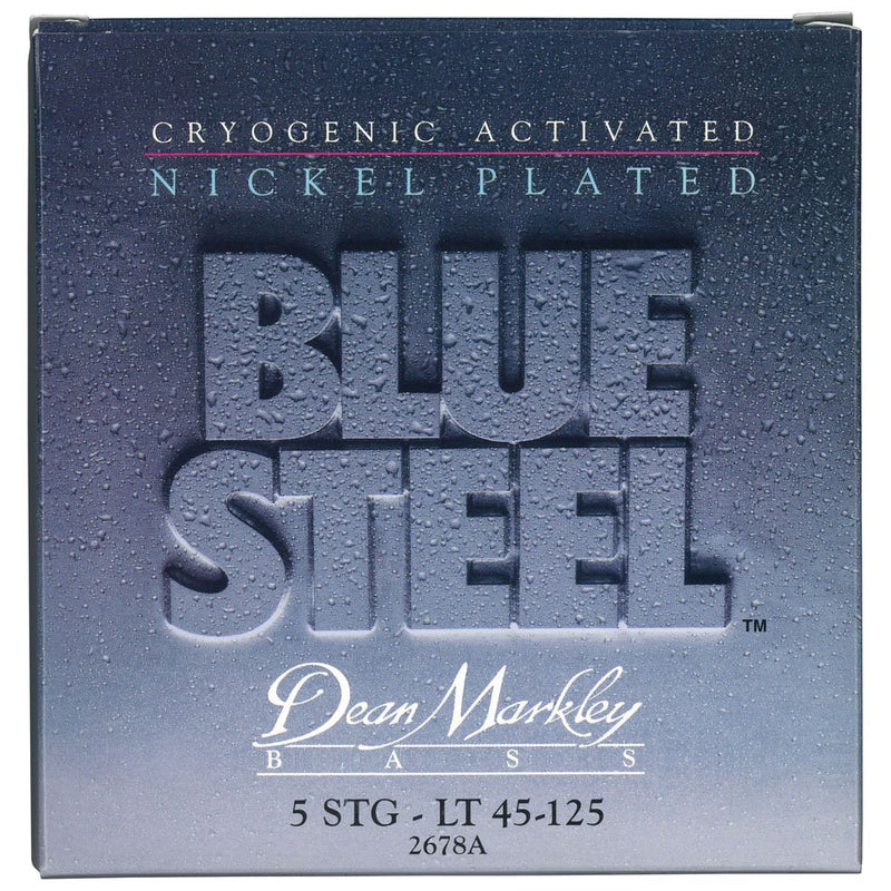 Dean Markley 2678A Blue Steel NPS 5-String Electric Bass Strings 45-125 - Red One Music