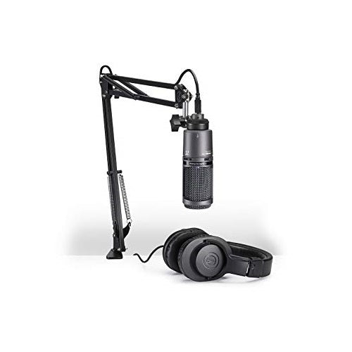 Audio-Technica At2020Usb+Pk Streaming/Podcasting Pack - Red One Music