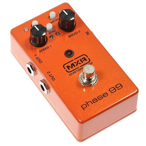 Mxr Csp099 Custom Shop Phase 99 Vintage Phaser Pedal - Red One Music