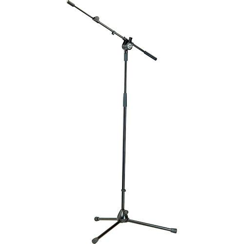 K&M 25600 Black Tripod Microphone Stand Amp Boom - Hauteur 37 - 65 9398 - 16510Cm Black - Red One Music