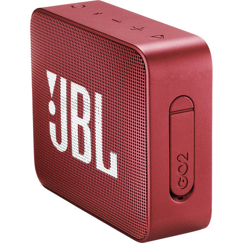 JBL GO 2 Portable Wireless Speaker (Ruby Red)