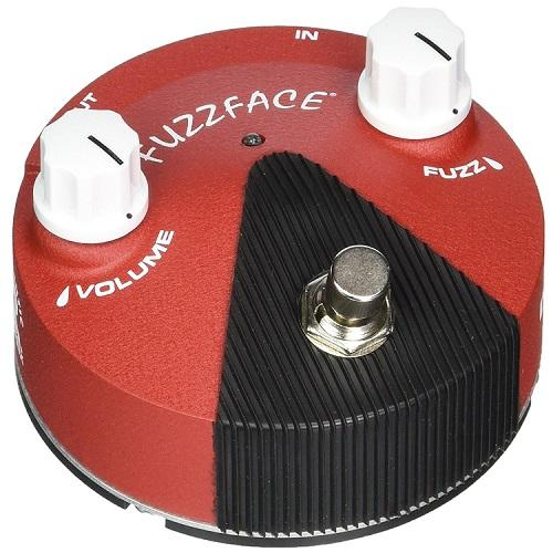 Dunlop Ffm6 Band Of Gypsys Fuzz Face Mini - Red One Music