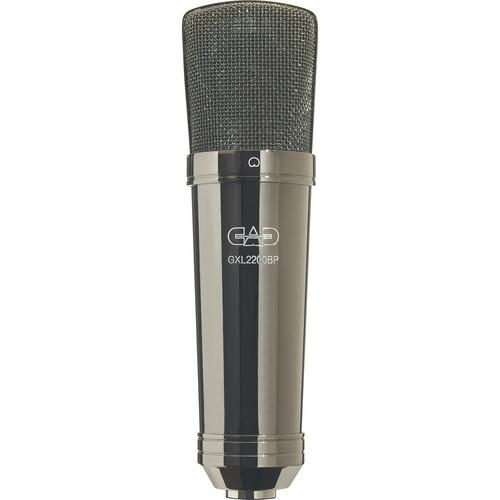 CAD GXL2200BP CARDIOID CONDENSER MICROPHONE BLACK PEARL CHROME FINISH