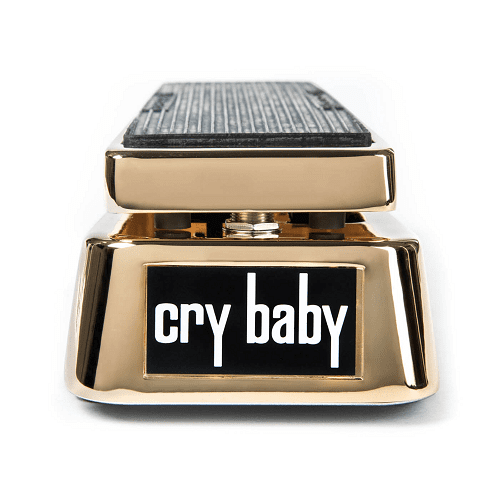 Dunlop Gcb95G 50Th Anniversary Gold Cry Baby Wah Pedal - Red One Music