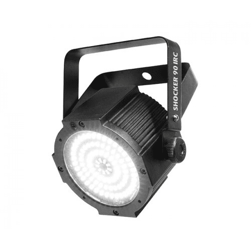 CHAUVET SHOCKER 90 IRC  HIGH-POWER LED STROBE LIGHT CREATES ATTRACTIVE EFFECTS USING 4 ZONES OF CONTROL