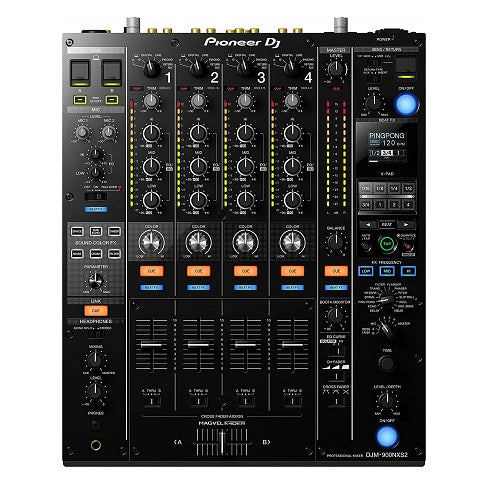 Pioneer DJM-900NXS2 Console 4-Channel Digital Pro-DJ