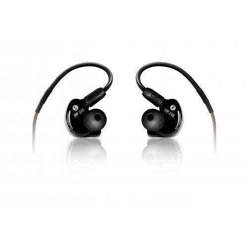 Mackie Mp-240 Dual Hybrid Driver Professional In-Ear Monitors Professional In-Ear Earbuds
