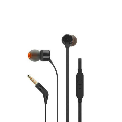 JBL T110 Black In-Ear Black Headphones