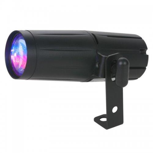 American DJ Pinspot-Led-Quad-Dmx 8W Quad Color Pinspot Light