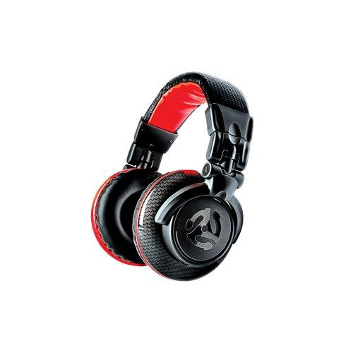 Numark Redwave Carbon Professional High Quality Dj Headphones - Red One Music