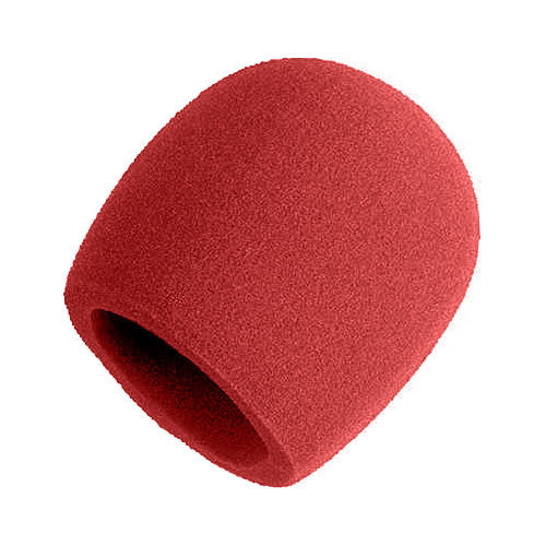 Shure A58WS-RD - Red Windscreen for Ball Type Microphones (SM48, SM58, Beta 58A, or 565SD)