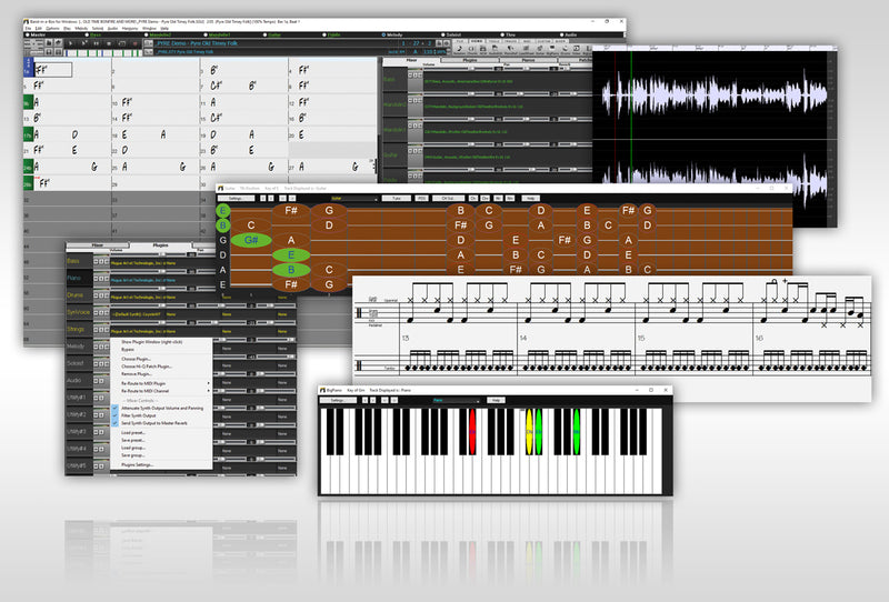 PG Music Band-in-a-Box 2021 UltraPAK+ - Automatic Accompaniment Software, Windows (Download)