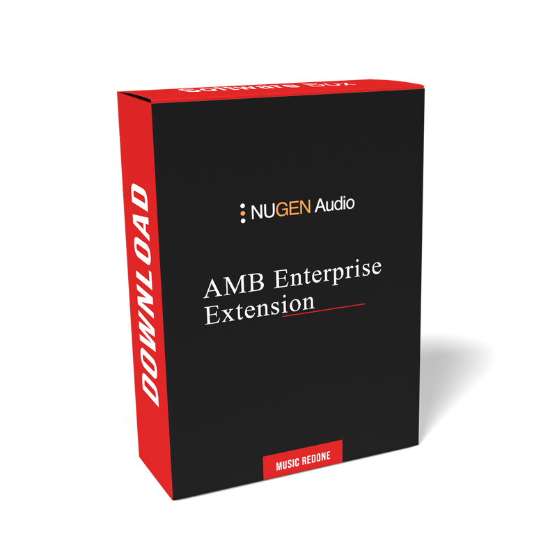 NuGen Audio AMB Enterprise Extension Module - Software for MAM Integration in Post Production (Download)