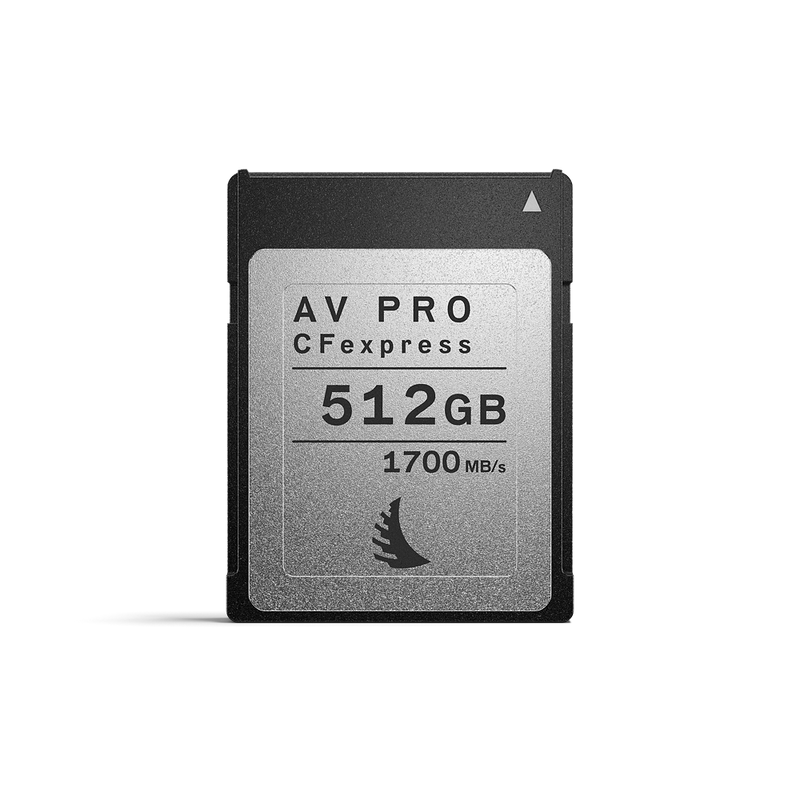 Angelbird AV Pro CFexpress 2.0 Type B Memory Card 512 GB