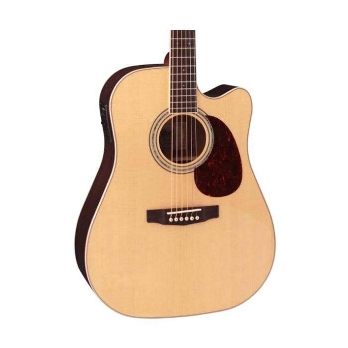 Cort MR710F-NS - Venetian Cutaway Dreadnought Acoustic Guitar - Natural