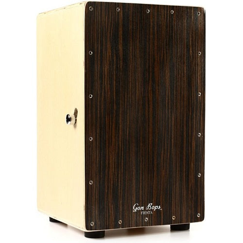 Gon Bops FSCJW Fiesta Cajon - Walnut, with Gig Bag