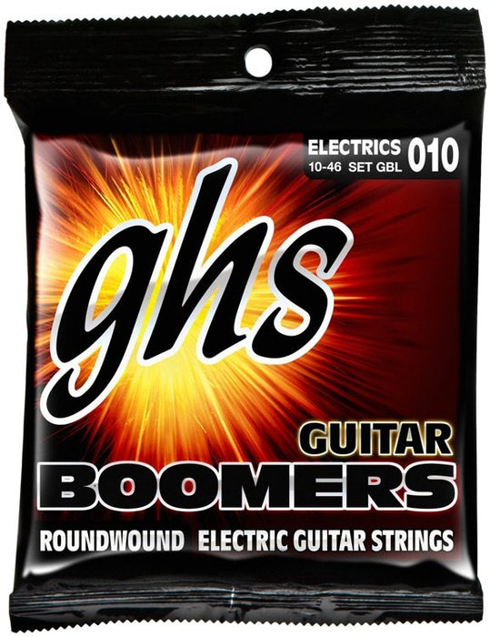 Ghs Boomers GBL 6-String - Light Scale 010-046 - Red One Music