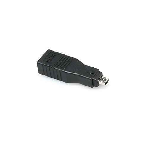Hosa Gfw-517 Firewire 400 Adaptor 6-Pin To 4-Pin - Red One Music
