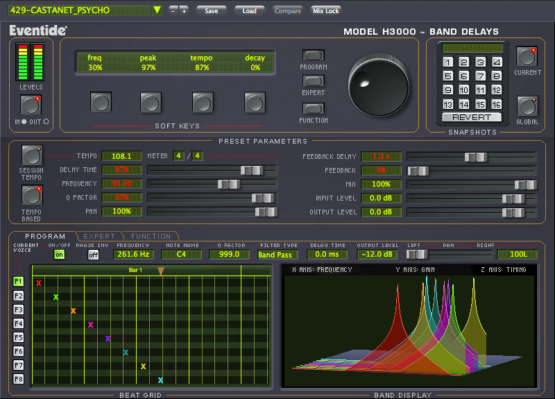 Eventide H3000 Band Delays Multiband Delay Plug-In (Download)