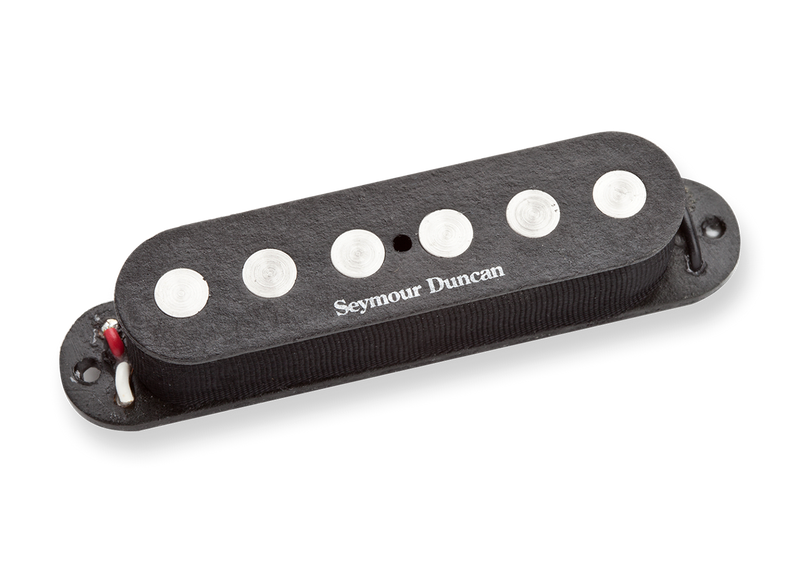 Seymour Duncan 11202-03-RWRP-T SSL-4t Quarter Pound Flat Strat Rev Wound Rev Polarity Black