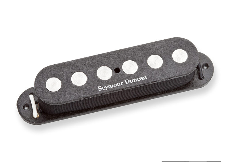 Seymour Duncan 11202-03 SSL-4 Quarter Pound Flat for Strat Black
