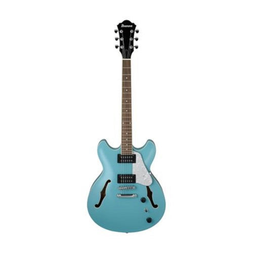 Ibanez AS63-MTB Artcore Vibrant Sapele Top Mint Blue - Red One Music