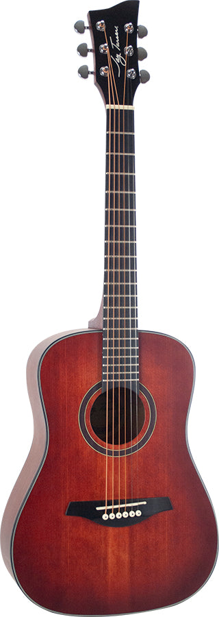 Jay Turser JTA52-SRD - 1/2 Scale Acoustic Guitar - Red Sun