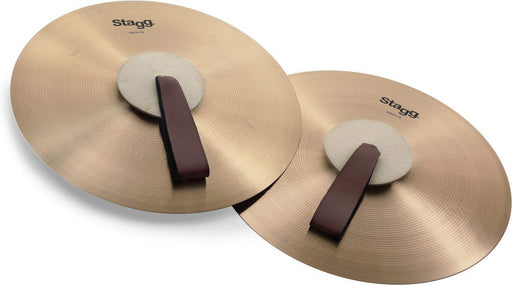 Stagg MASH16 Marching Cymbal - Red One Music