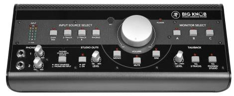 Mackie Big Knob Desktop Studio Command System B-Stock - Red One Music
