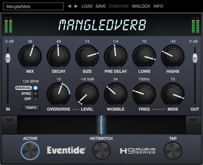 Eventide MangledVerb Reverb + Distortion Plug-in (Download)