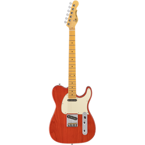 G&L ASAT CLASSIC Clear Orange - Red One Music