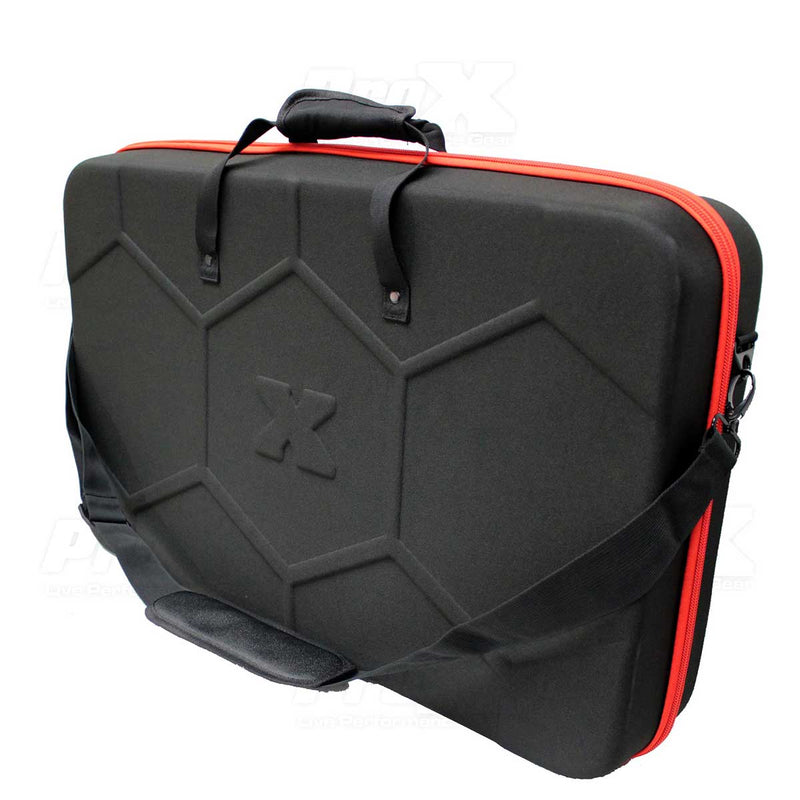 ProX XB-DJCL ZeroG EVA Ultra-Lightweight DJ Controller Bag - Red One Music