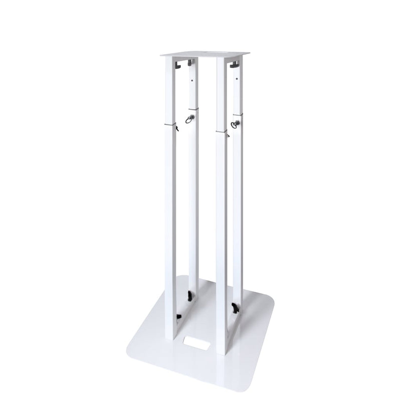 Novopro PS1 XL Adjustable Podium Stand 5ft (white) - Red One Music