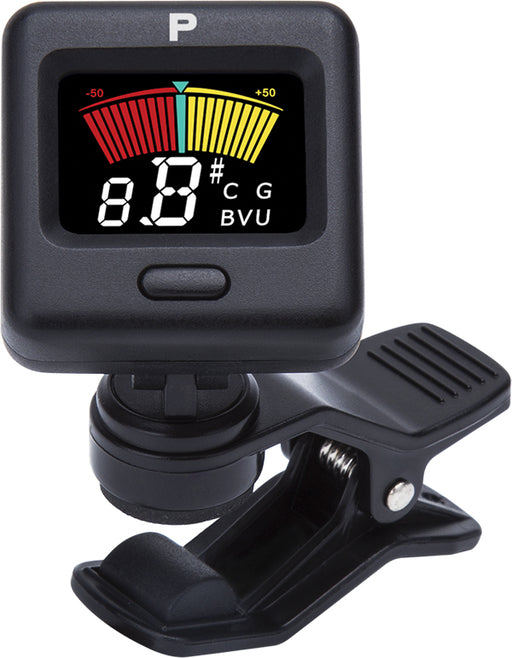 Profile PT-1700 Mini Clip Tuner avec écran LCD couleur - Red One Music