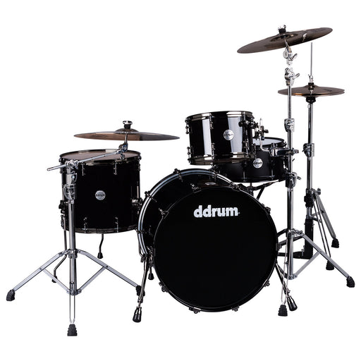 DDrum MAX BD 14X24 PB Maplealder Bass Drum - Piano Black Finish Max Bd 14X24 Pb - Red One Music