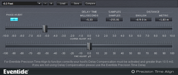 Eventide Precision Time Align Plug-in (Download)