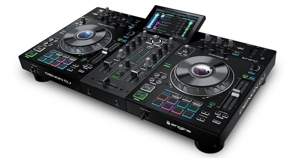 Denon DJ Prime 2 2-channel DJ Controller - Red One Music