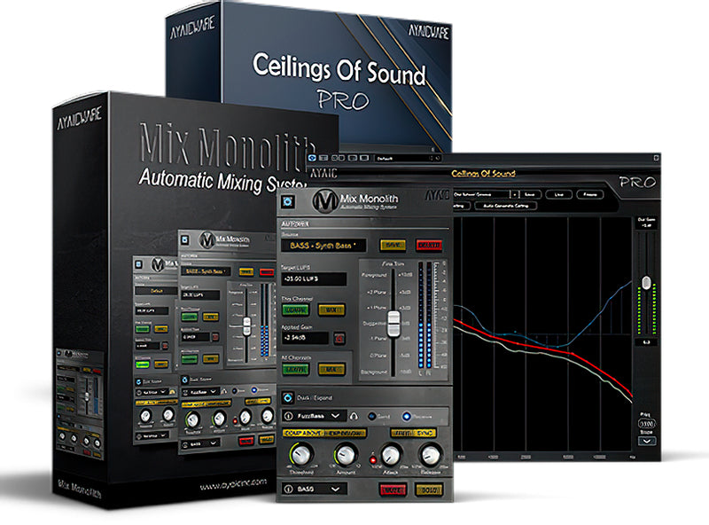 AyaicWare PowerMix Bundle - A Truly Powerful Mixing Combination Bundle Plug-in (Download)