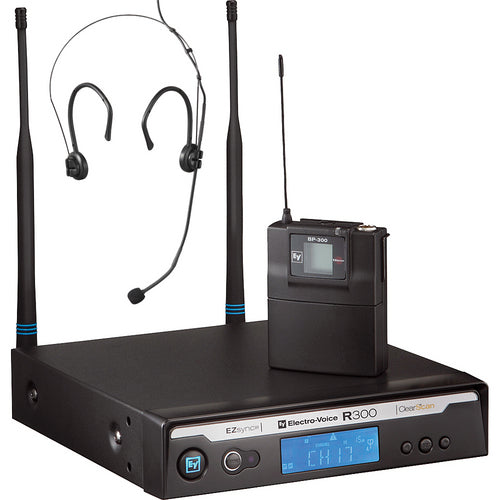 Electro-Voice R300-E Wireless Headset Mic System