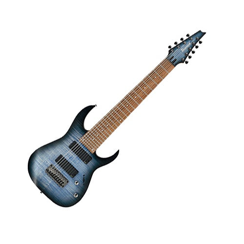 RGIR9FME-FDF RG IRON LABEL 9 STRING WITH GIG BAG-FADED DENIM FLAT