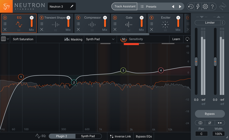 iZotope Neutron 3 Standard Channel Strip Plug-in (Download)