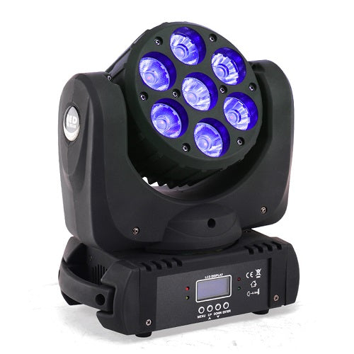 Storm COMMANDO Washer Led Rgbwa+Uv 6In1 18W