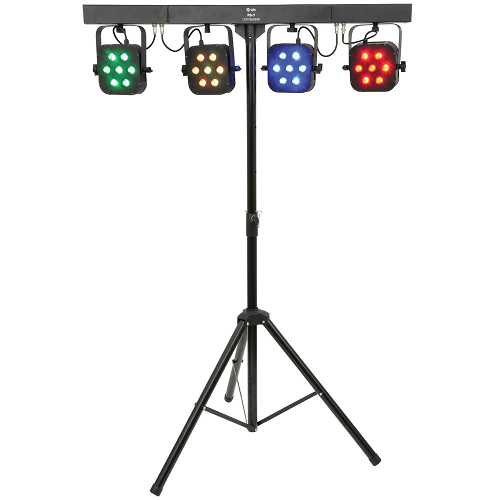 Storm Four Bar  Led 4 Bar With Case/Pedal/Stand