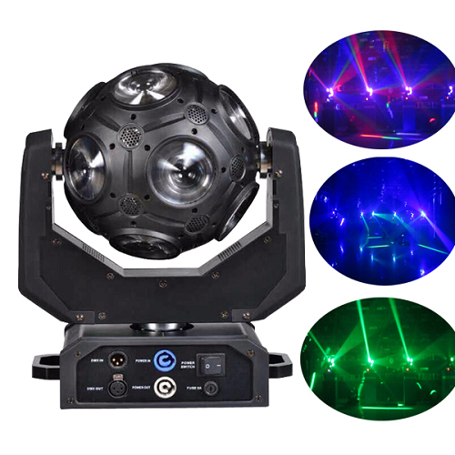 STORM THUMPER 12X 12W RGBW 4-IN-1 MOVING HEAD