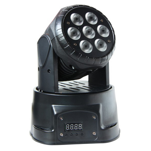 Storm Moving Wash70 Led Wash Moving Head 7X 10W - Red One Music