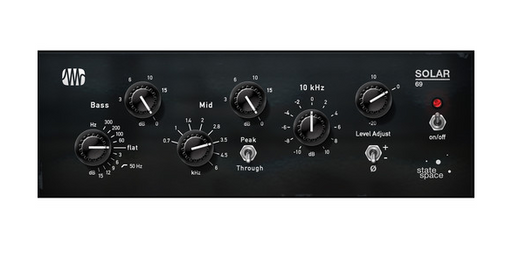Plug-in d'égalisation Fat Channel EQ PreSonus Solar 69 (téléchargement) - Red One Music