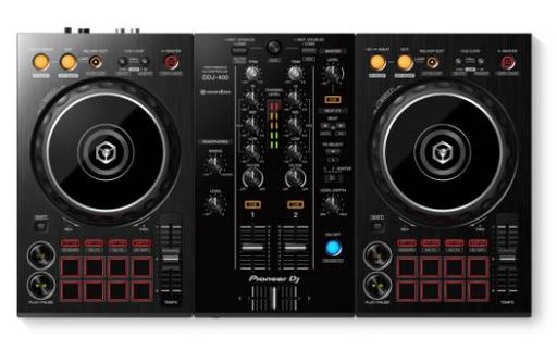 Pioneer DDJ-400 2-channel DJ Controller for rekordbox - Red One Music