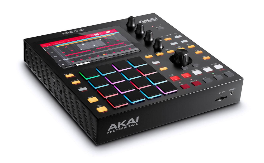 Centre de production musicale autonome Akai MPC One - Red One Music